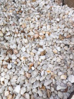 White Garden Rocks