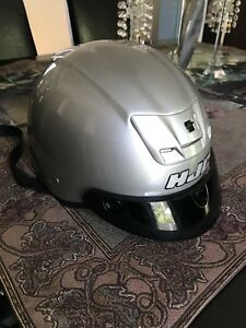 HJC Motorcycle Helmet With Visor & RemovableEar Pads