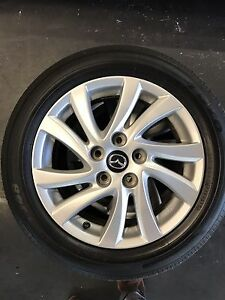 """Mazda 16"""" alloy wheels Queenstown Port Adelaide Area Preview"""