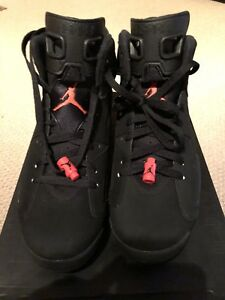 JORDAN 6 BLACK INFRARED 9.5 BRAND NEW DEADSTOCK AUTHENTIC