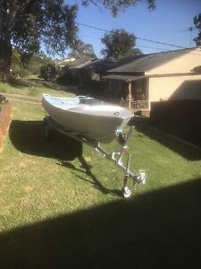 14ft tinny & trailer Rooty Hill Blacktown Area Preview