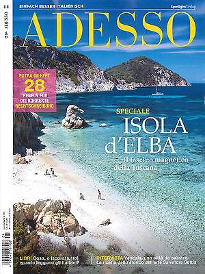 ADESSO, Heft April 4/2017: Isola d'Elba  +++ wie neu +++