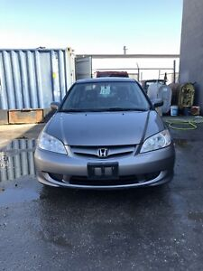 !!**LOW KM GUN METAL GREY CIVIC SI SEDAN**!!