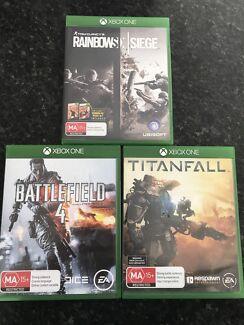 Xbox 1 games bundle $40