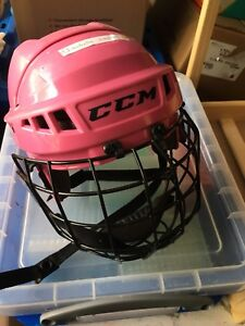 Child Hockey Helmet with face cage
