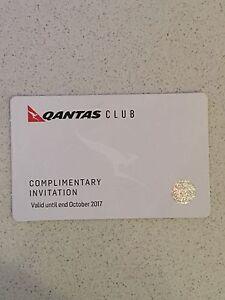 1x Qantas Club Complimentary Pass, Exp. Oct 17 Malvern East Stonnington Area Preview