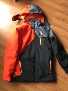 Youth boys sz 18 Spyder winter jacket - excellent condition