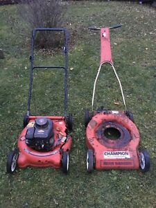 Lawnmower parts/project
