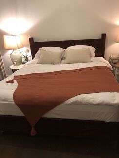 King Size Indian Rosewood Bed Frame