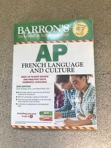 Brand New Textbook: Barron's AP French Language and Culture