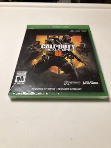 Call of duty black ops 4 for the Xbox one brand new