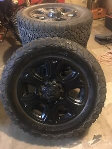 Tire and rims for sale for dodge 3500