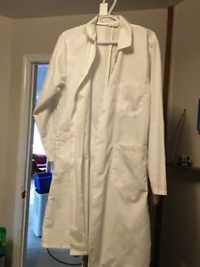 Lab coat and glasses $5