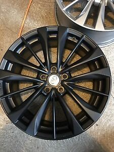 "19"" g37 rims wheels. 5 x 114.3  with TPS sensors"