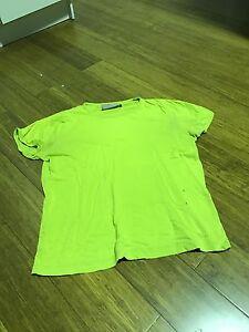 Green Peter Alexander mens t-shirt with holes Flemington Melbourne City Preview