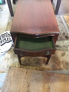 Vintage / antique side table / night stand