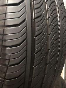 4 pneus d'été continental 195 65 15 ( une saison d'usure)