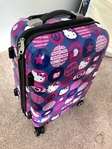 GIRLS Ladies Hello Kitty Carry-On Suitcase