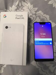 Google Pixel 3 XL Clearly White 128GB Unlocked