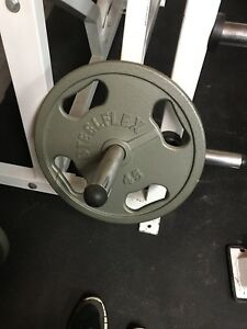 Olympic Weight Plates - iron