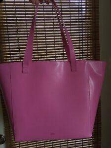 Fuchsia Leather Bag