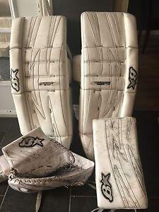 Custom Brian goalie pads
