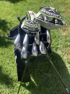 Callaway Epic Driver 3Wood and Apex forged irons