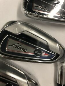 Adams Blue irons w hybrids