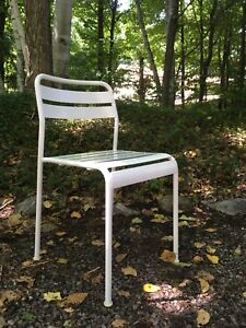 6 Outdoor Stacking Dining Chairs