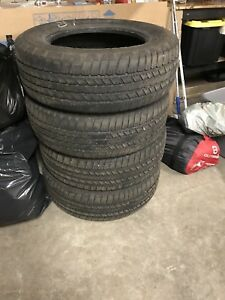 "Set of 4 used 18"" truck tires"