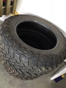 Two Toyo m/t 37x13.5r22