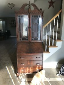 Antique Honderich Secretary Desk