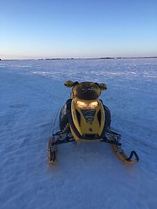 2007 SKIDOO 550f FOR TRADE FOR QUAD