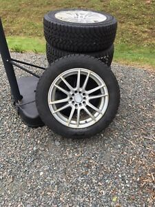 Goodyear Nordic Winter Tires with Alloy Rims