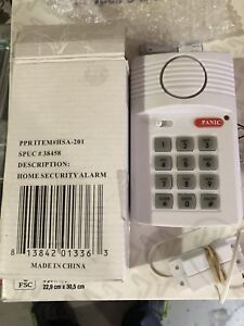 Secure Pro Keypad Alarm System - for door, garage, windows
