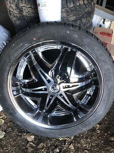 """22"""" wheels new tires! GMC chev 1500 Yukon Tahoe"""