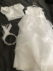 Communion or flower girl dress set