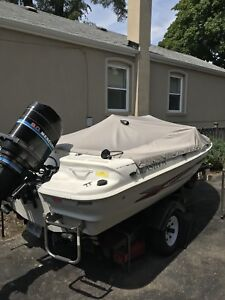 Boat for sale $5600 Or trade for a seadoo(with trailer)ONLY!