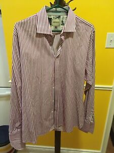 EUC Men`s Ted Baker Archive Button Up Shirt. Size is XL