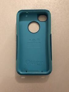 Otterbox commuter for IPhone 4 or 4S teal green