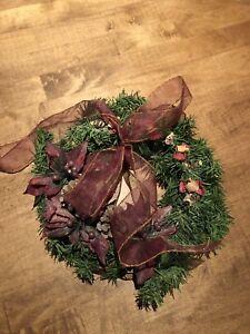 Petite couronne de Noël décorative/ décoration de Noël