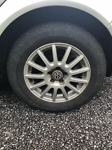 195/65/15 tires and OEM Volkswagen Rims