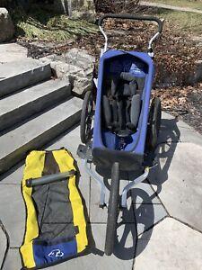 Trek single jogging stroller & bike trailer