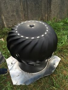 Whirlybird vent for roof