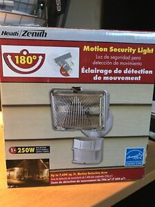 Motion Detector Security Light