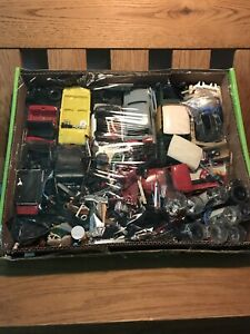 Vintage Model Car And Truck Parts Lot.
