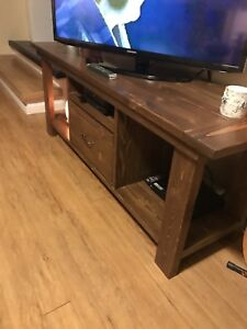 Home made TV stand