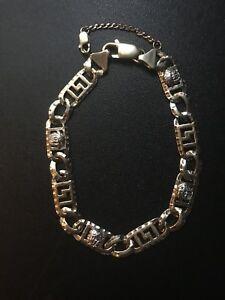 Bracelet En Or 10k Versace . Gold