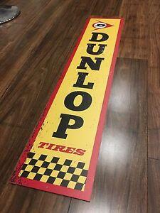 Dunlop Tires reproduction sign Kurunjang Melton Area Preview