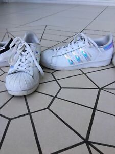 new style 76f6f 995b9 Women's holographic adidas superstars | Women's Shoes ...